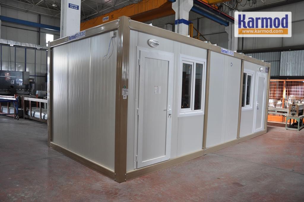 prefab caravan house