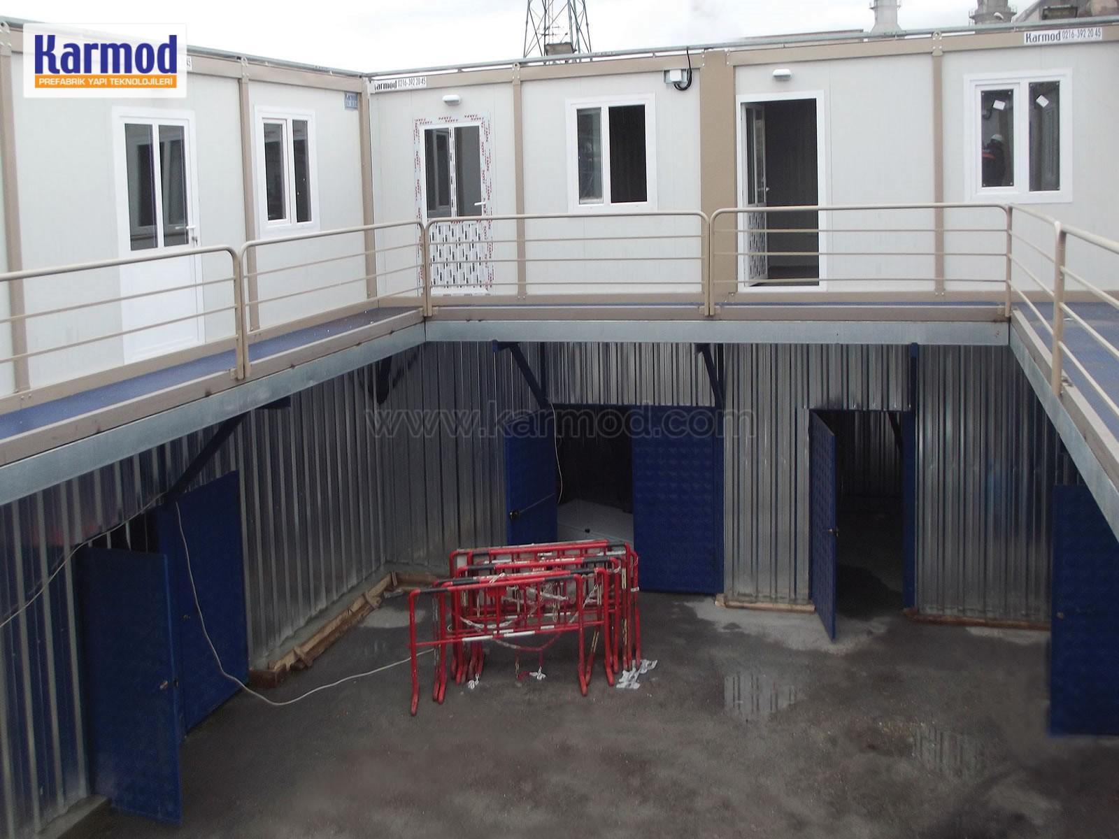 prefab site office