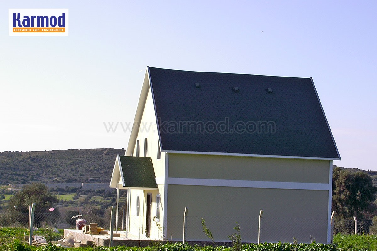 prefabricated cottages Cameroon