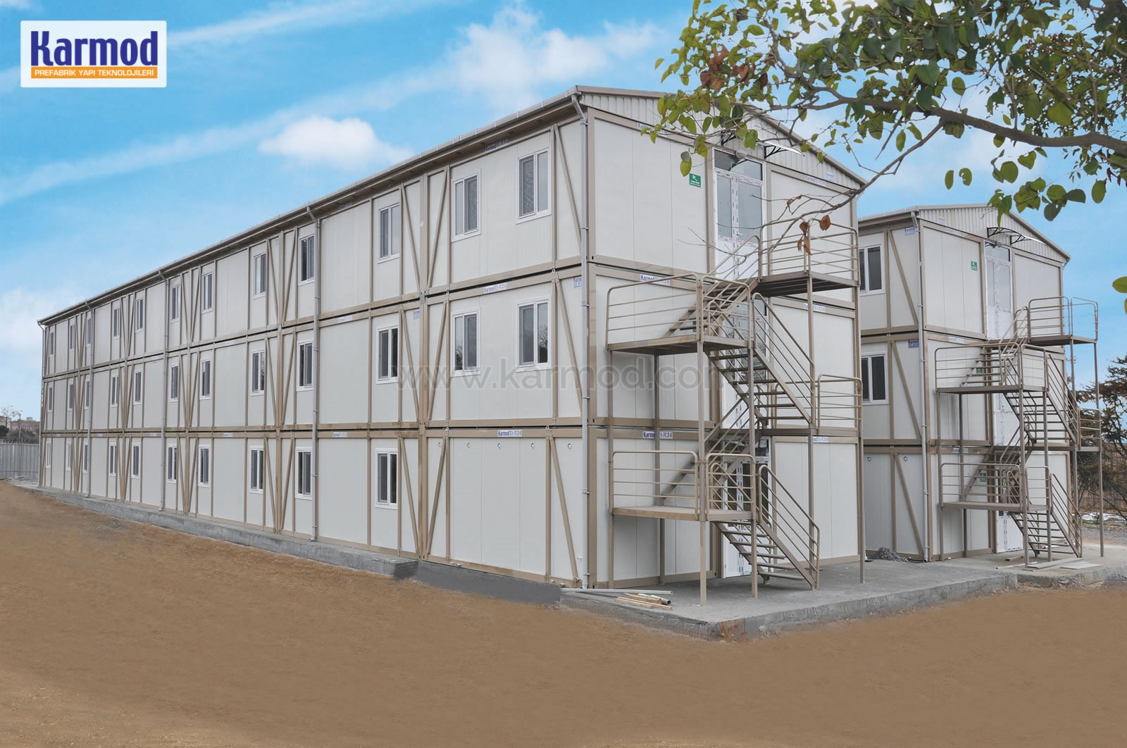 Prefabricated dormitories