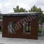 prefabricated guard houses