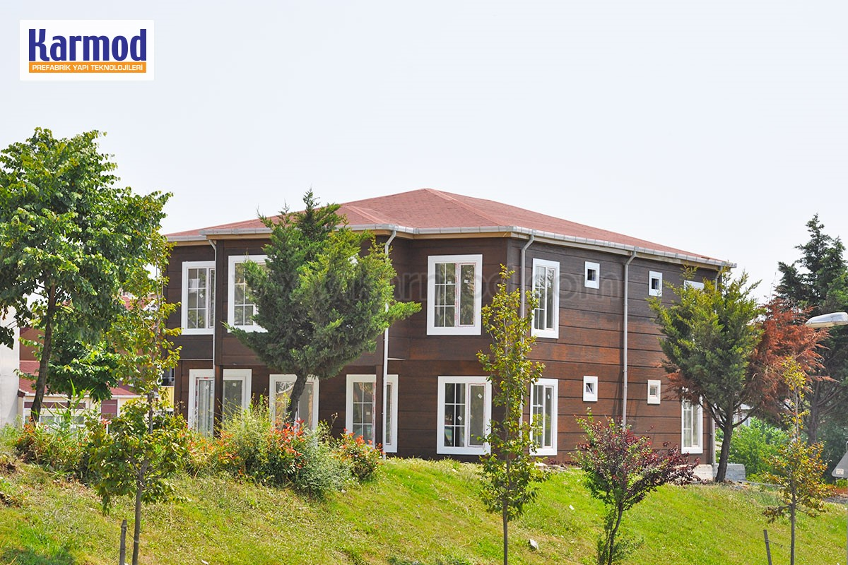 prefabricated housing Cameroon
