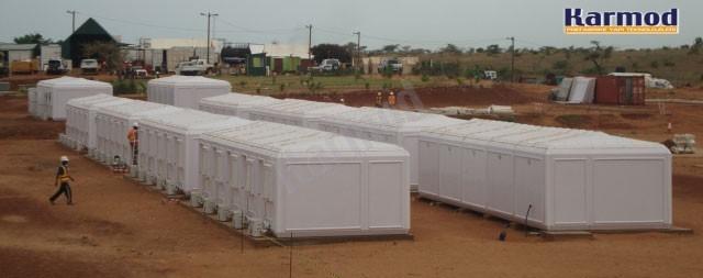 refugee houses