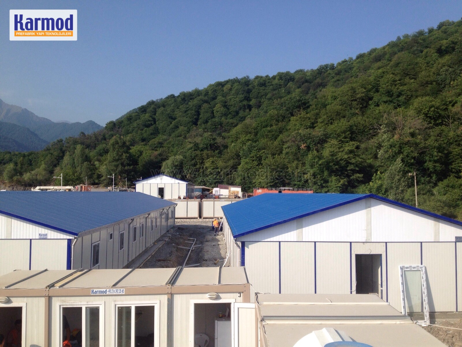 Workforce Housing for Gold Mine Camp