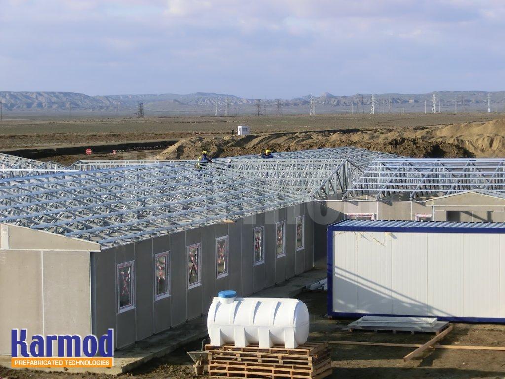 construction labour camp