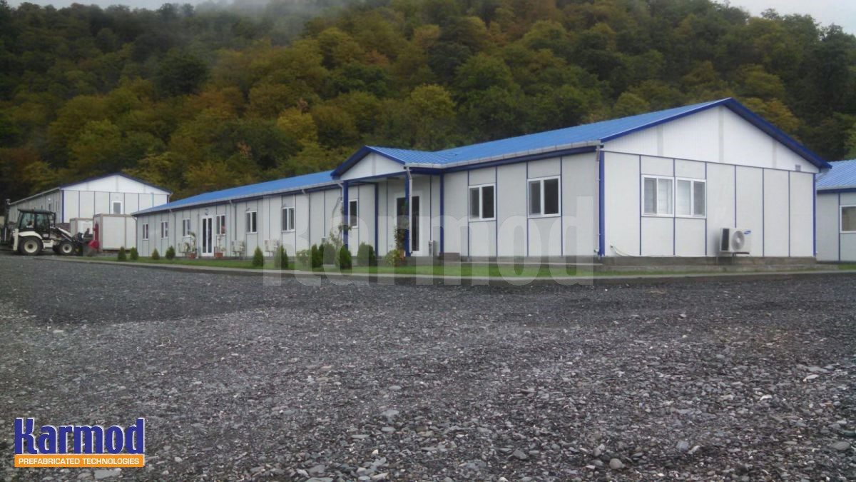 construction site cabin