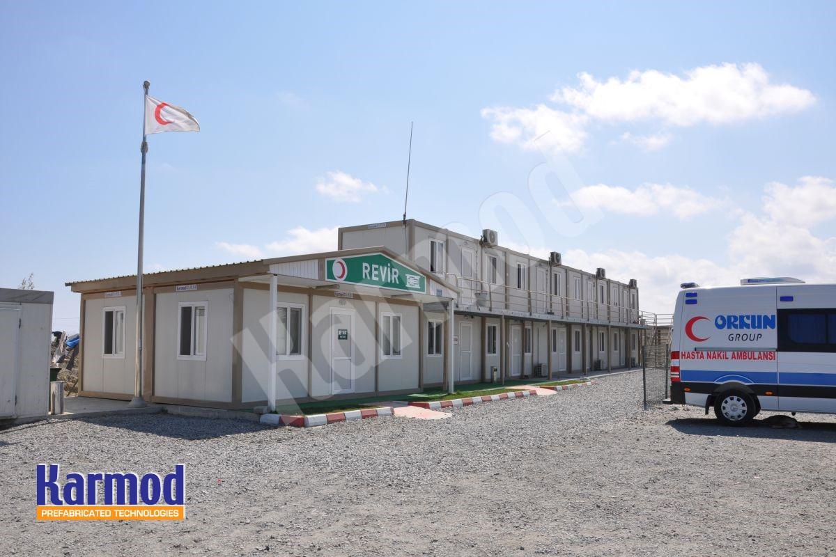 Construction Site Labour Camp,