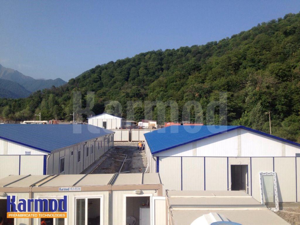 Construction Village Labour Camp