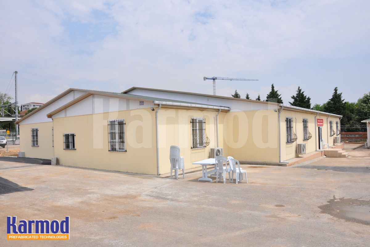 fiber cement board prefab house