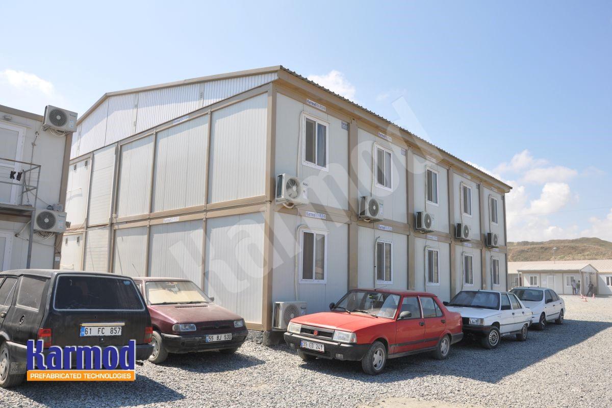 Prefab House for Labor Camp
