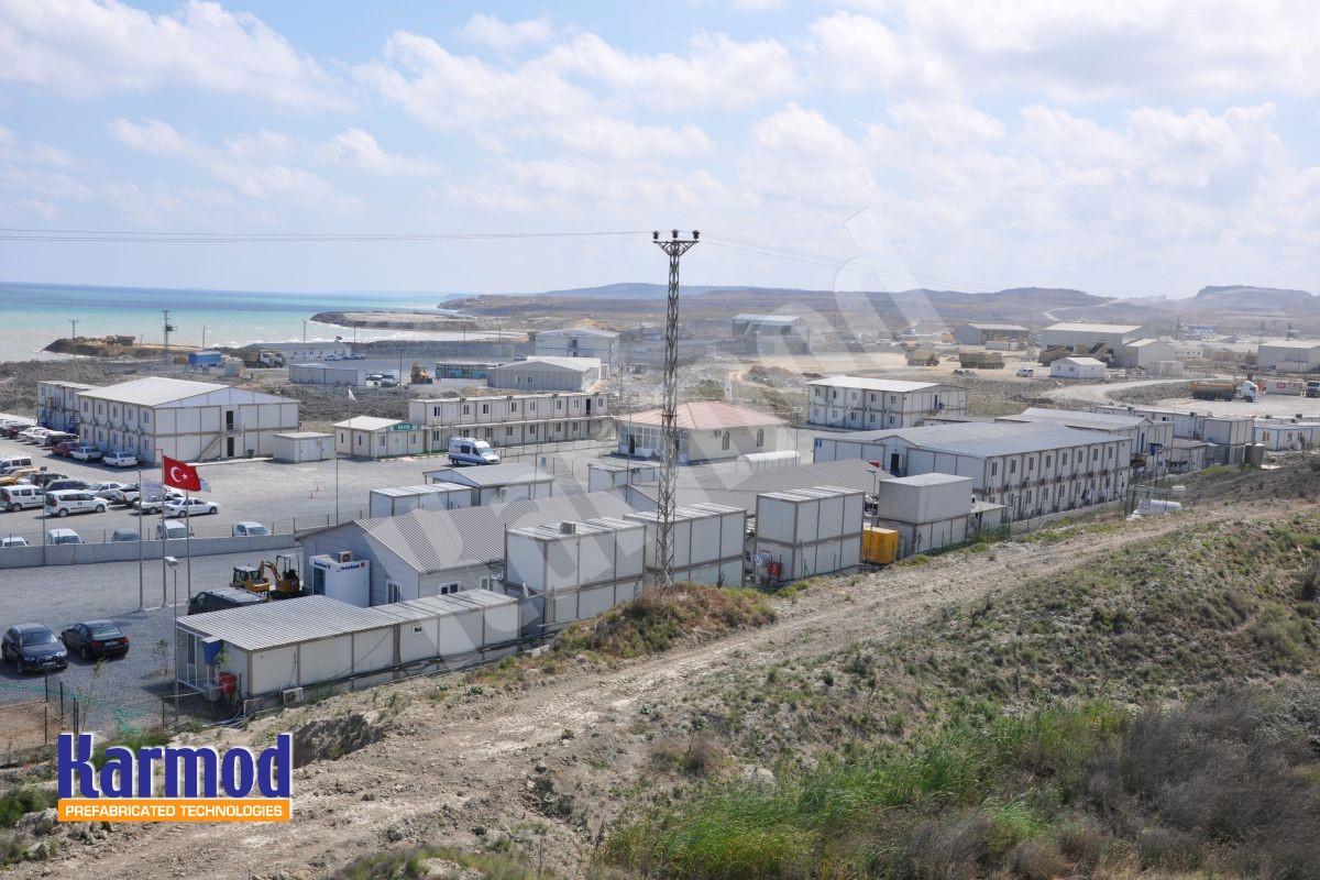 prefab labour camp