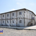 Prefabricated labour camp construction