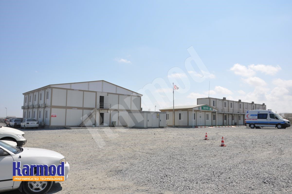 prefabricated labour camps