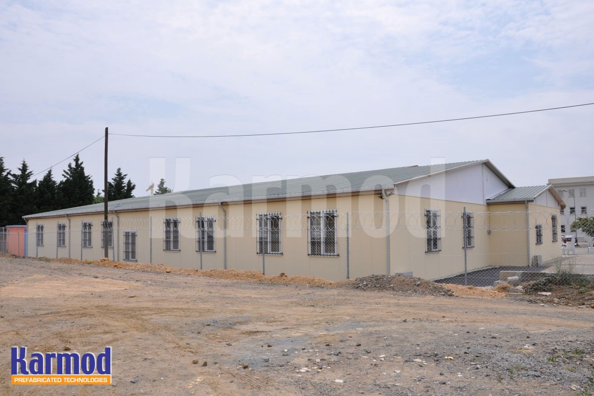 prefabricated site accommodation