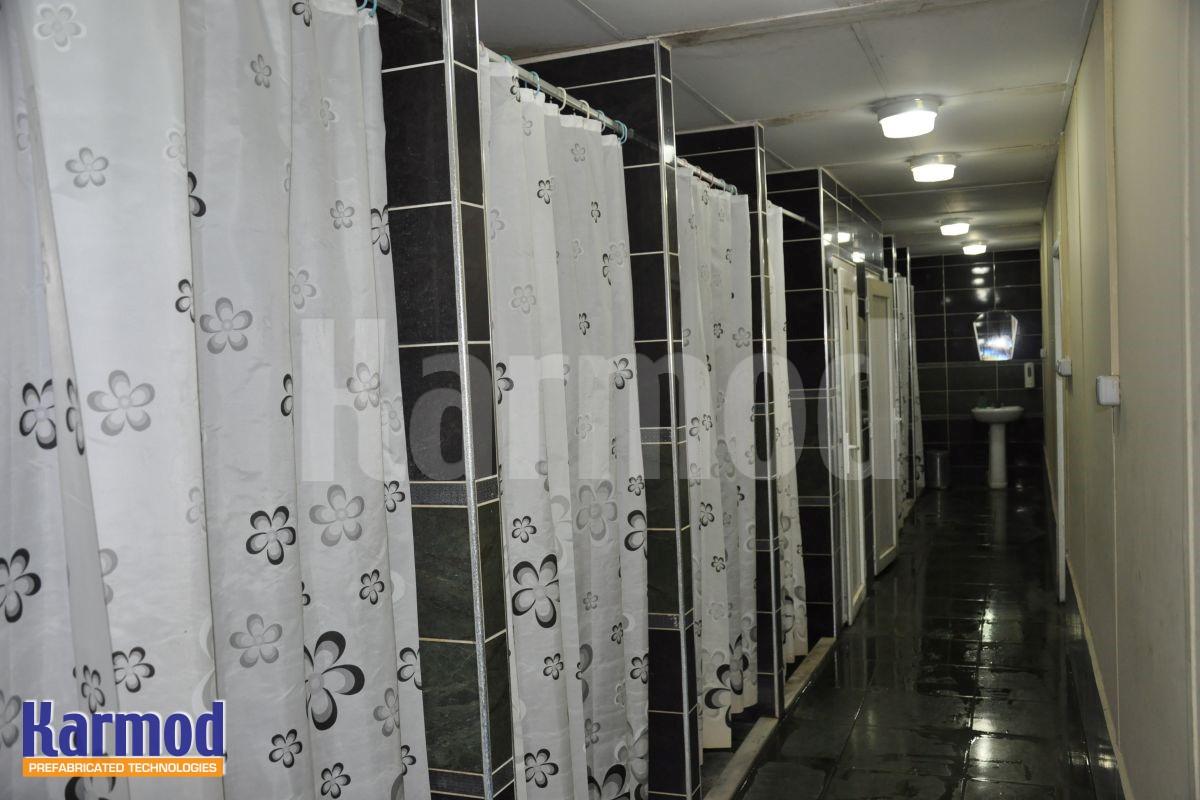 Site Camp Prefabricated Bathroom