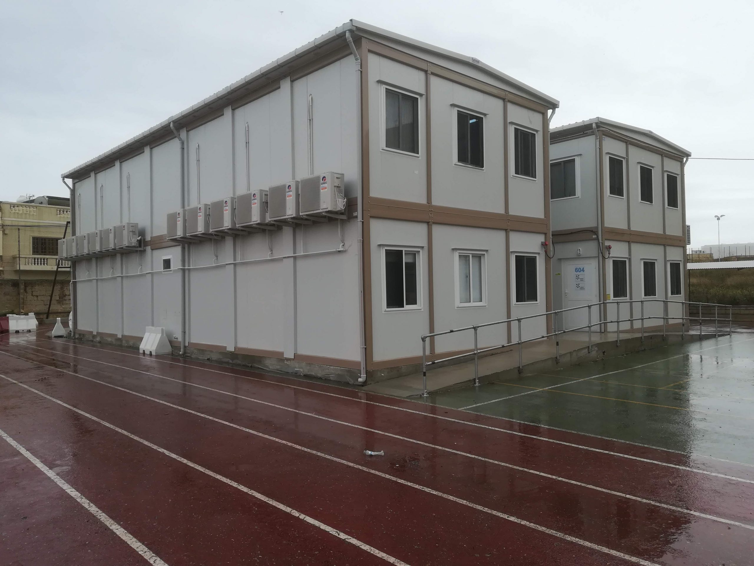 Modular construction site offices