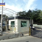 Armored Military Guard Booth