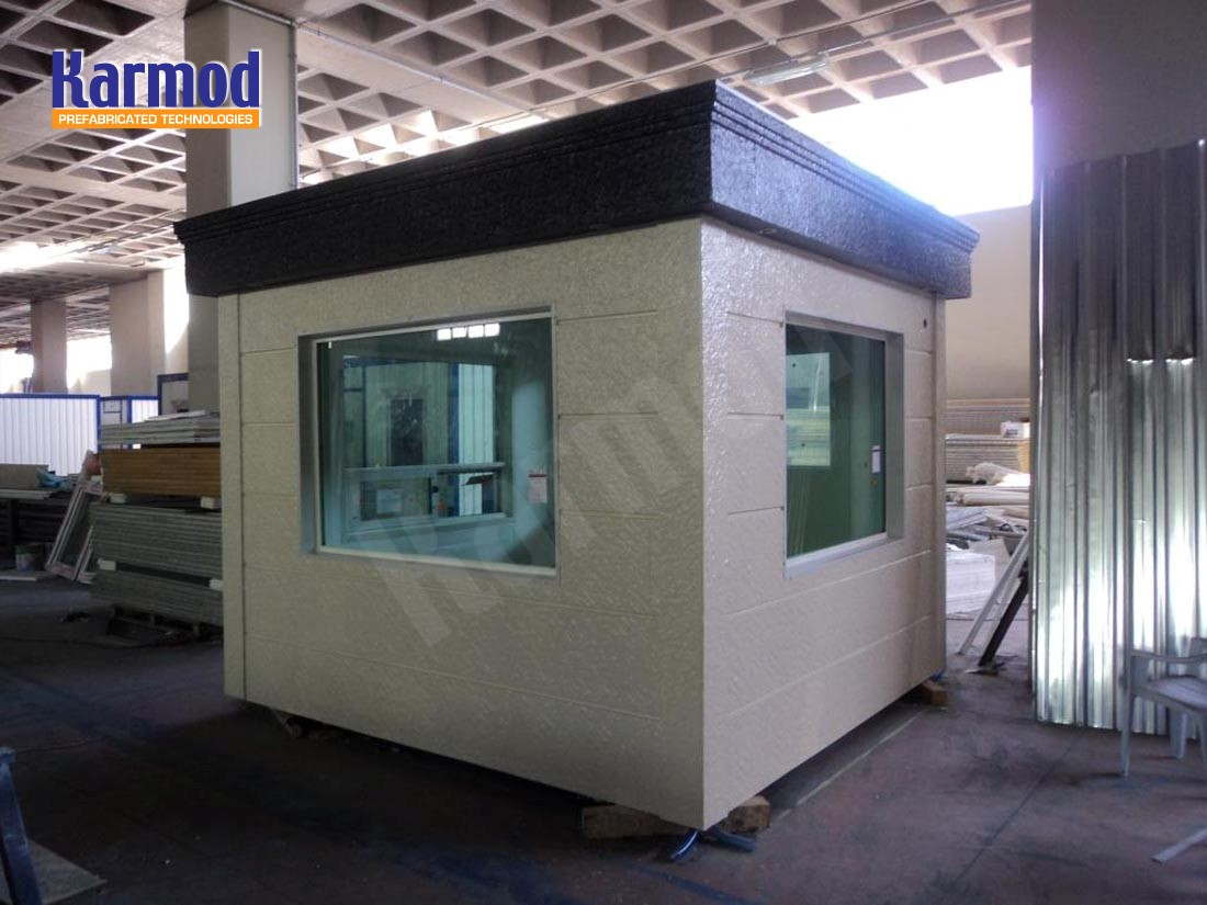 Army armored security cabins