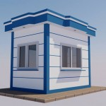 Bullet resistant modular cabin