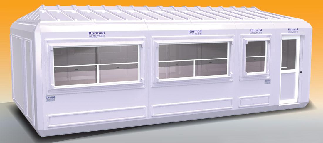 Container für Flüchtlinge Unterkünften
