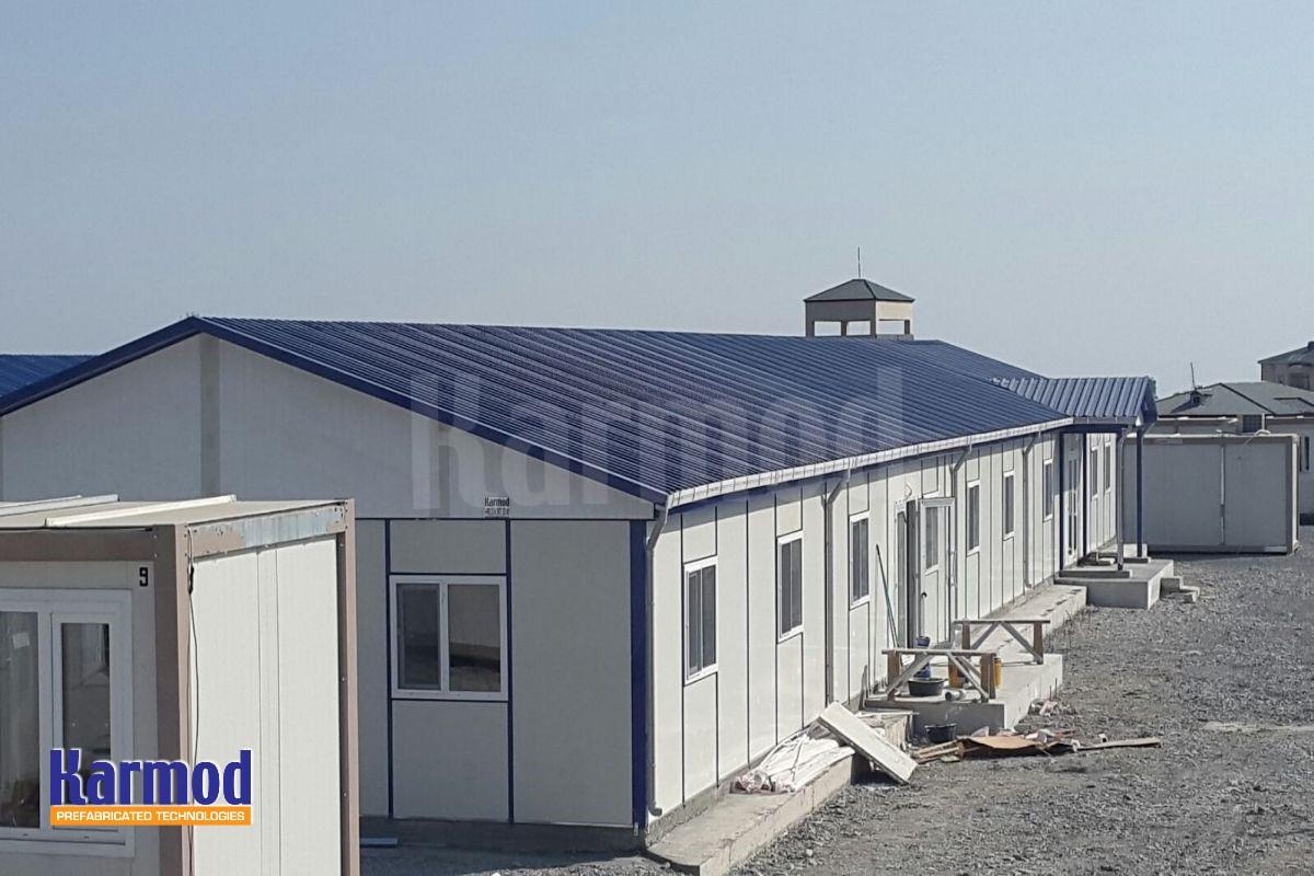 Qatar living labour camp