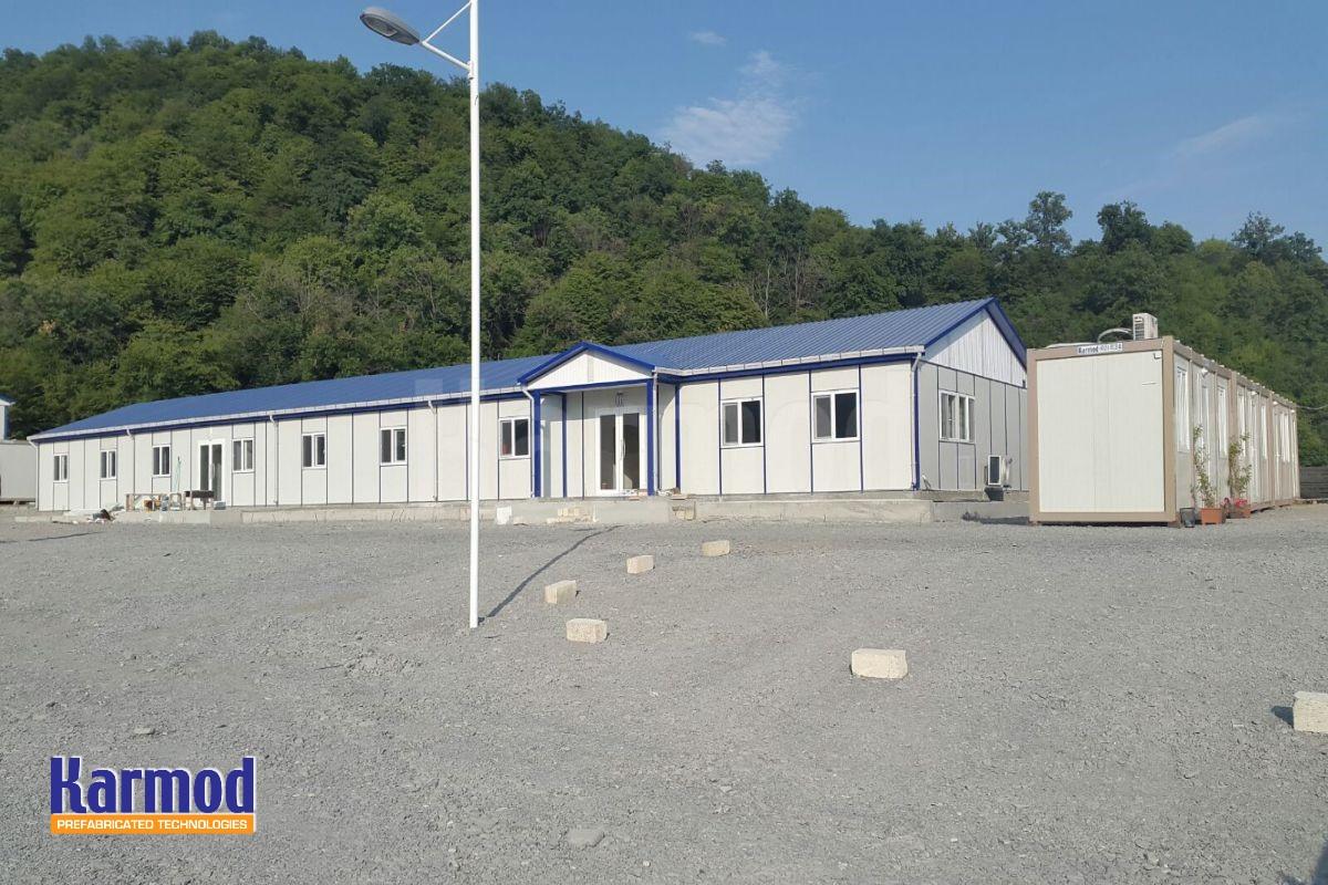 site offices Labour camp