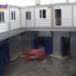 steel site office container