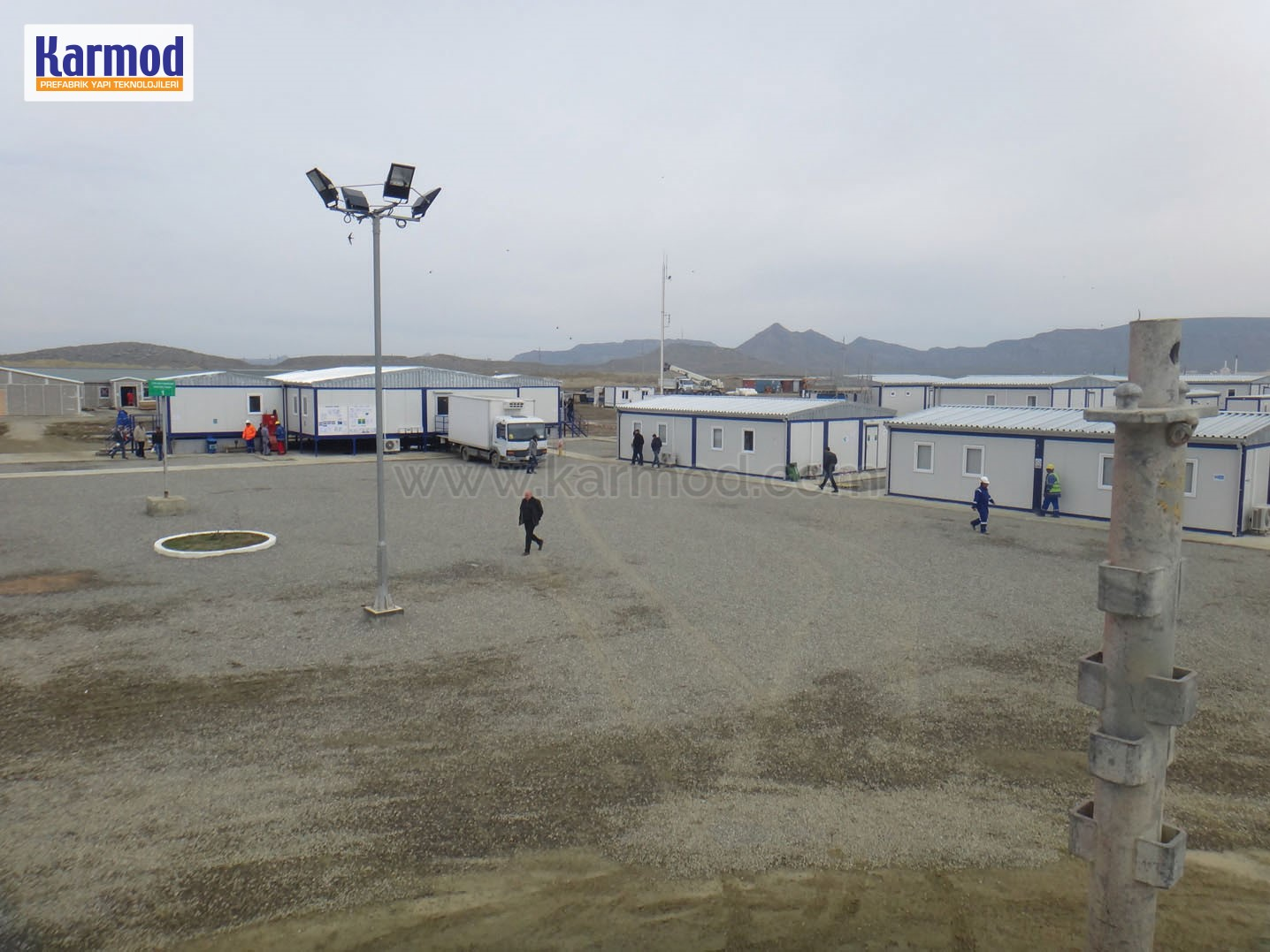 Temporary Construction Workers Camp