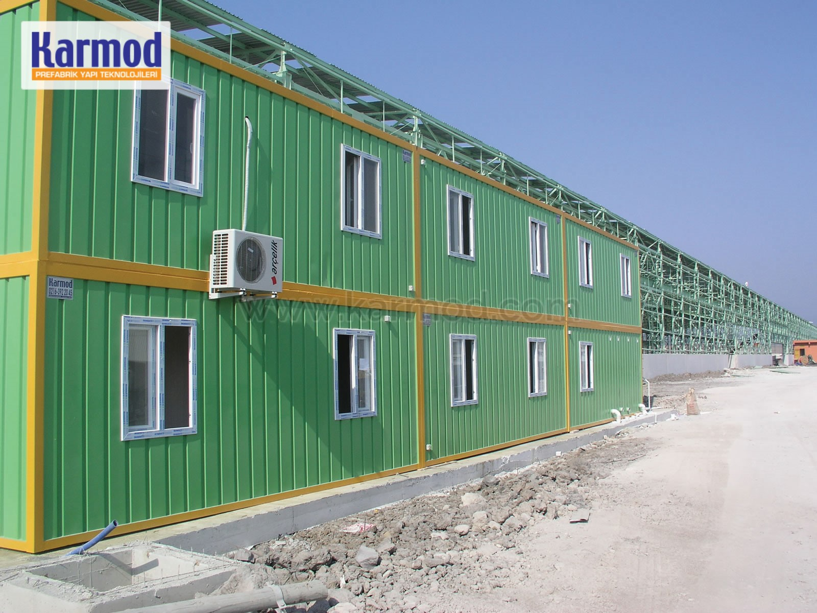 Temporary Office Buildings