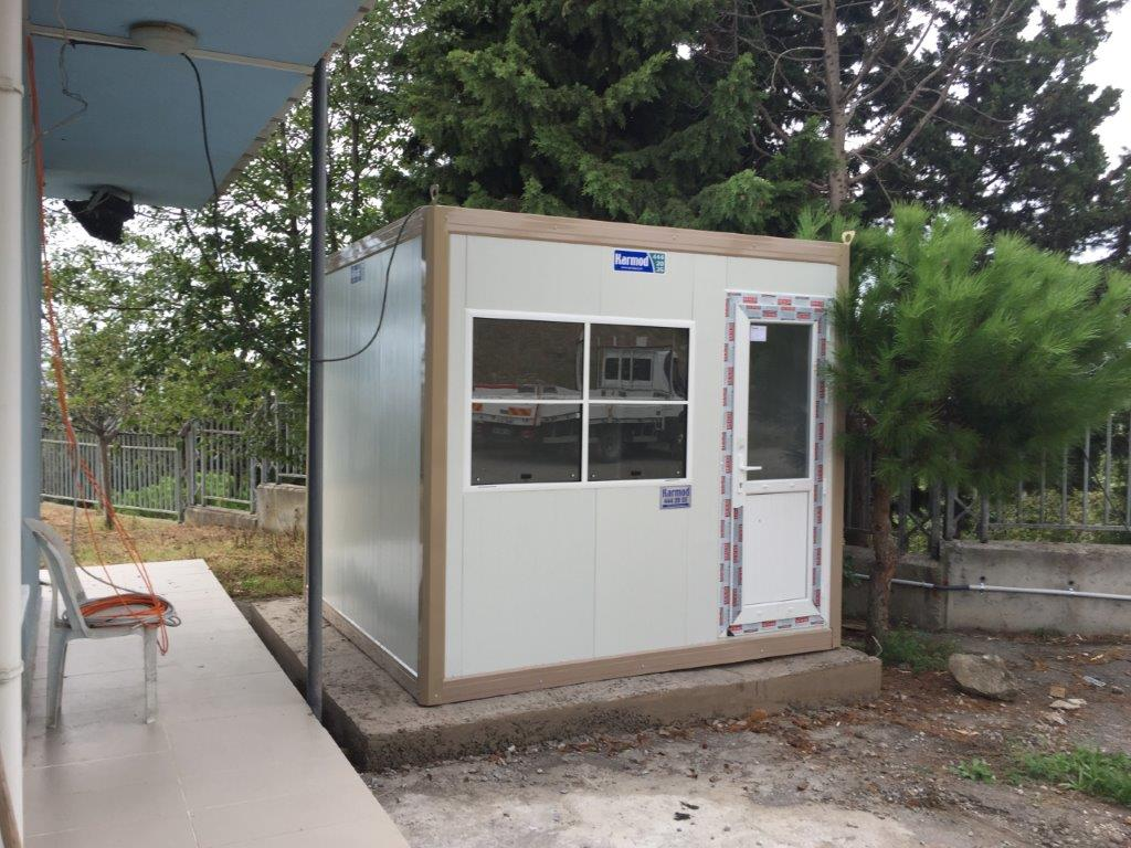 Robust, Modern and Easy to Install guard house for sale