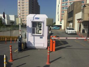 Portable ticket booths