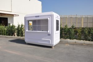 Prefabricated ticket booth