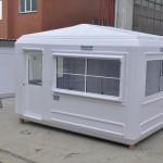 Fiberglass modular cabins