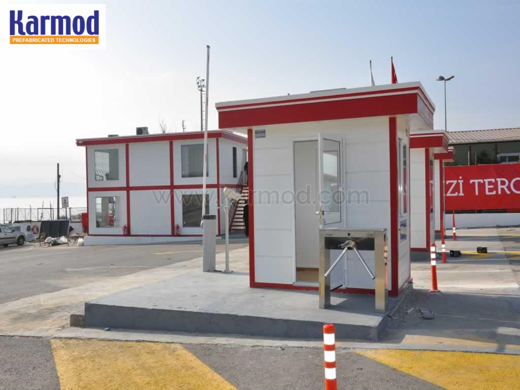 guard control booths