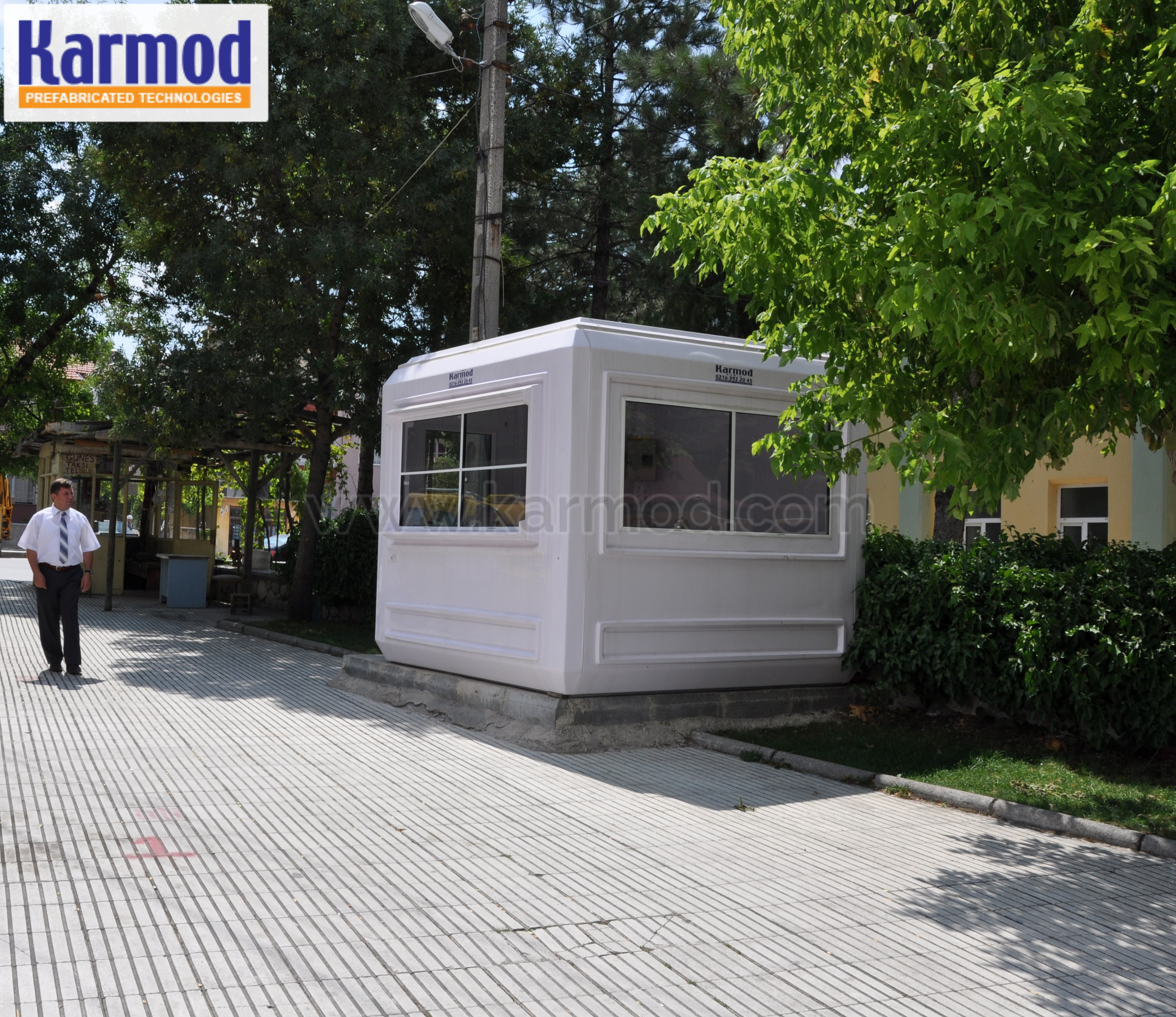 information cabins