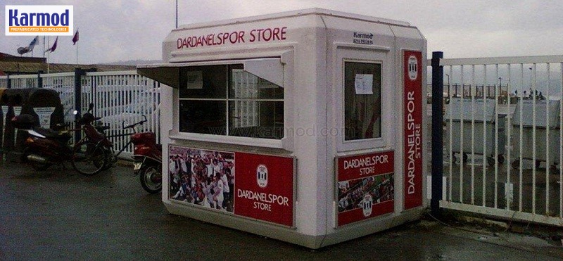 Mobile Ticket Booth