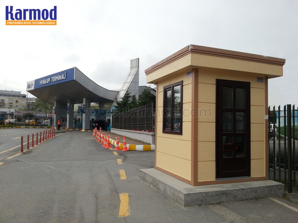 modern guard houses