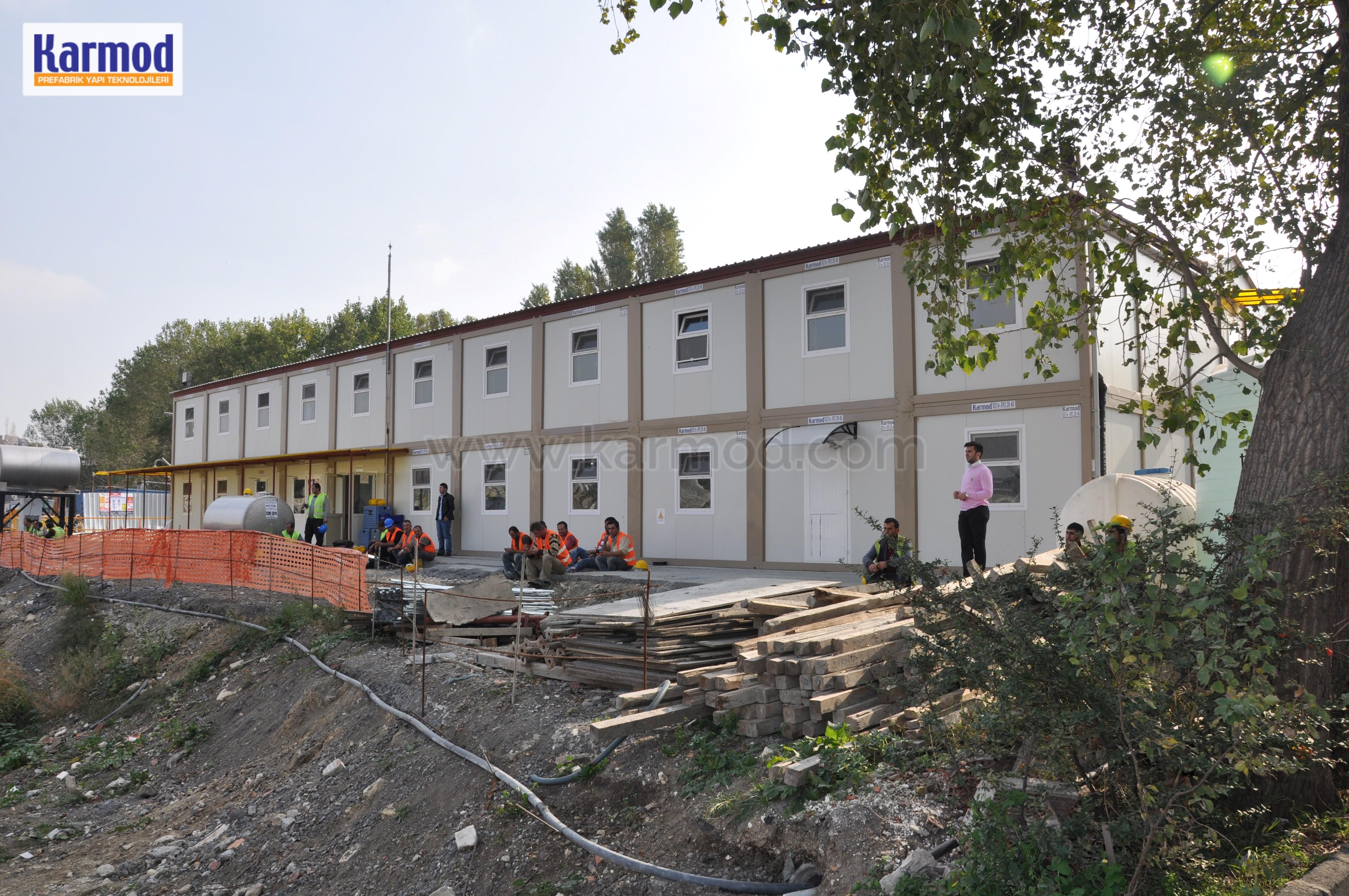 Modular Buildings camp