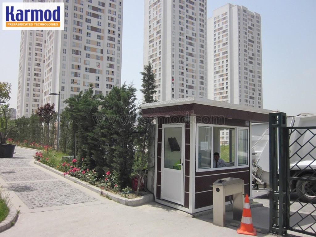 modular guard house