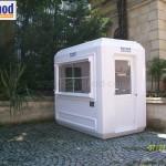 modular information booths