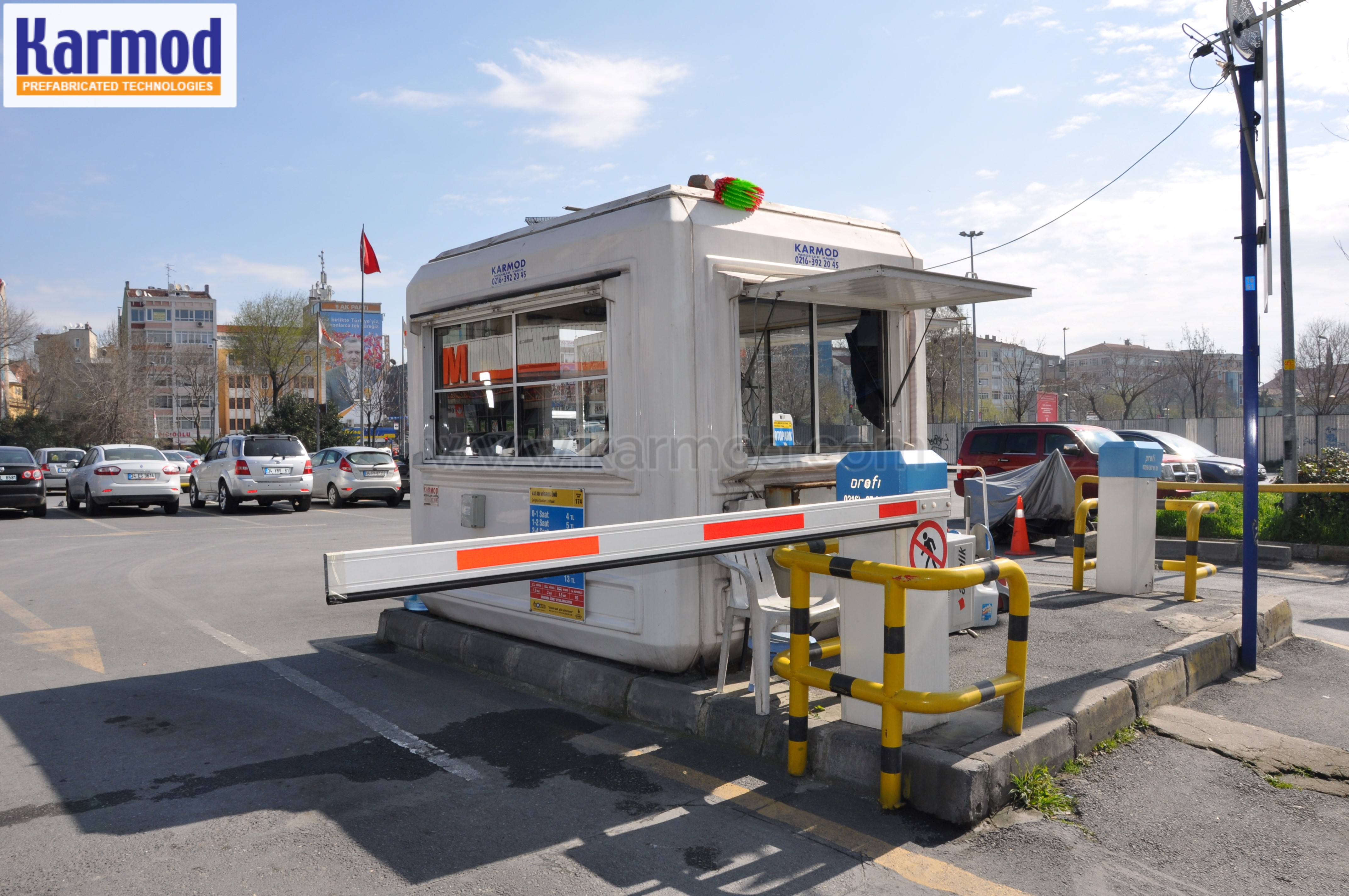parking cashier booth