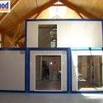 pre assembled cabin