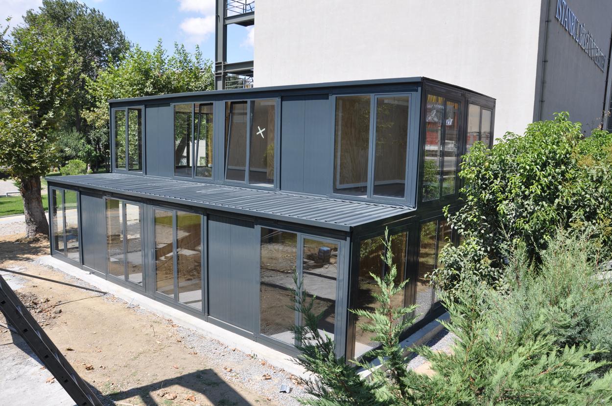 pre-assembled modular office