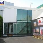 pre assembled modular office