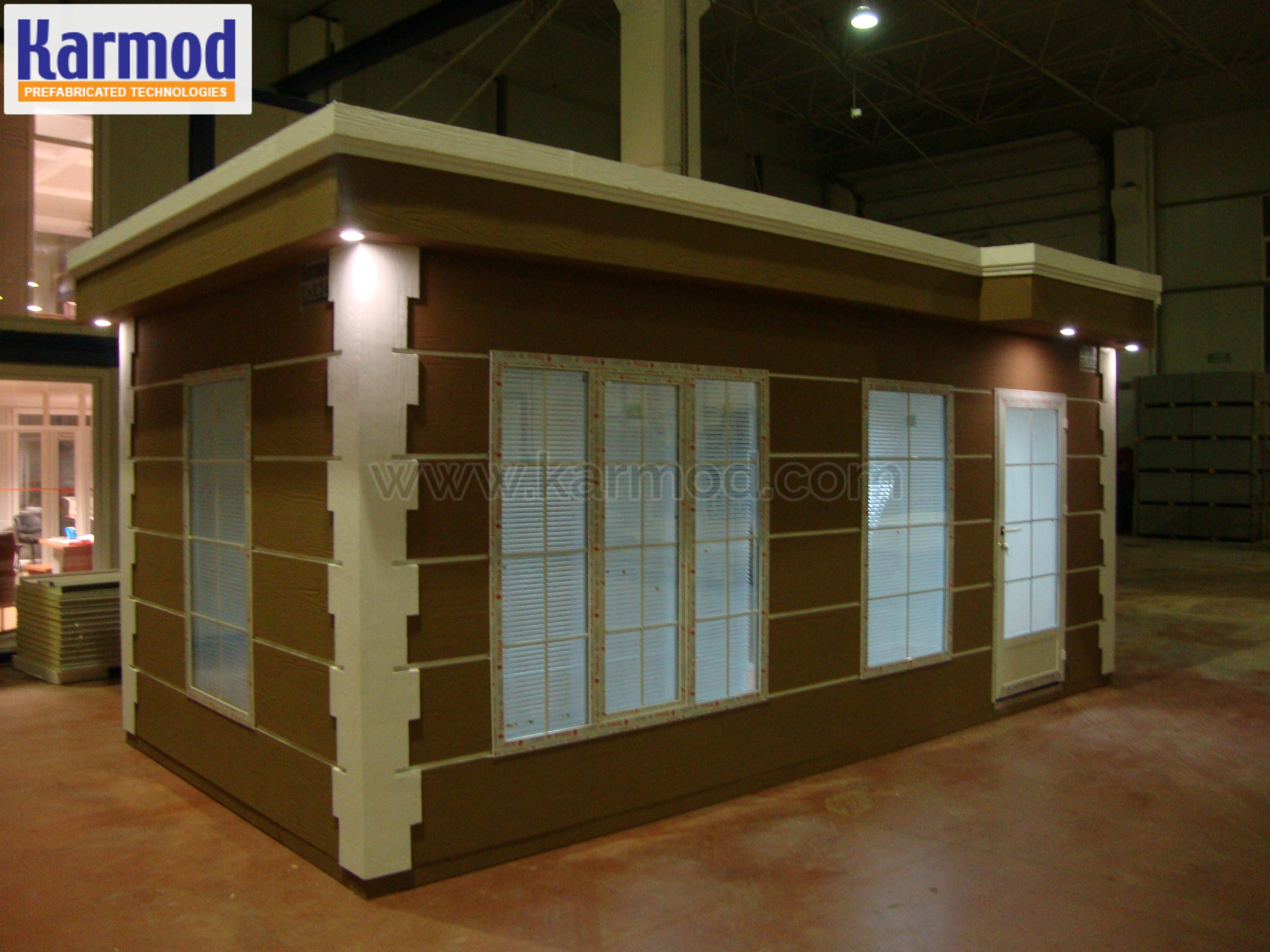 prefab Valet Booths