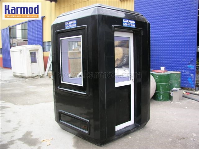 prefabricated guard shack
