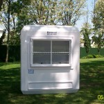 prefabricated information booths