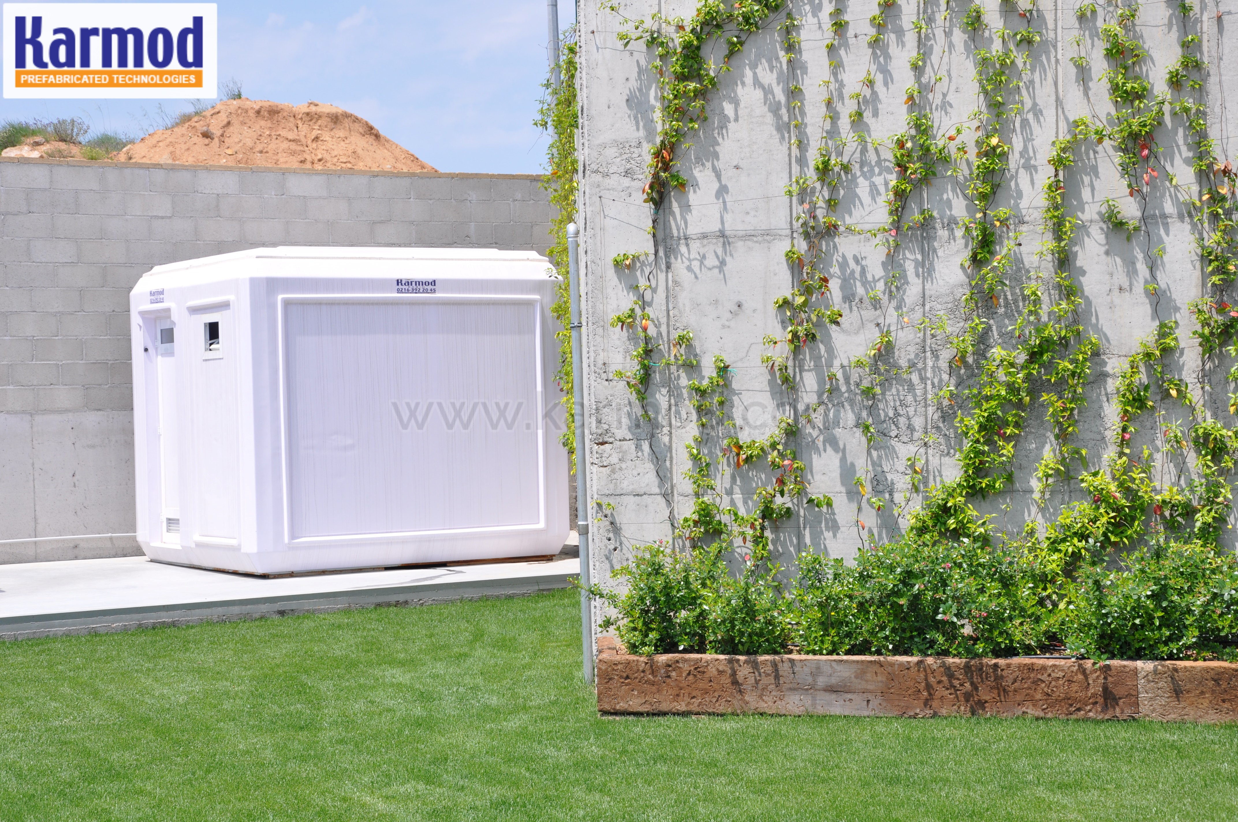 Prefabricated restrooms for parks