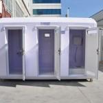 public restrooms kiosks