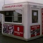 sales cashier booths